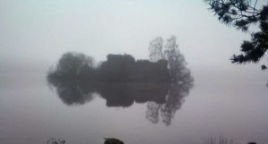 Happed in mist
