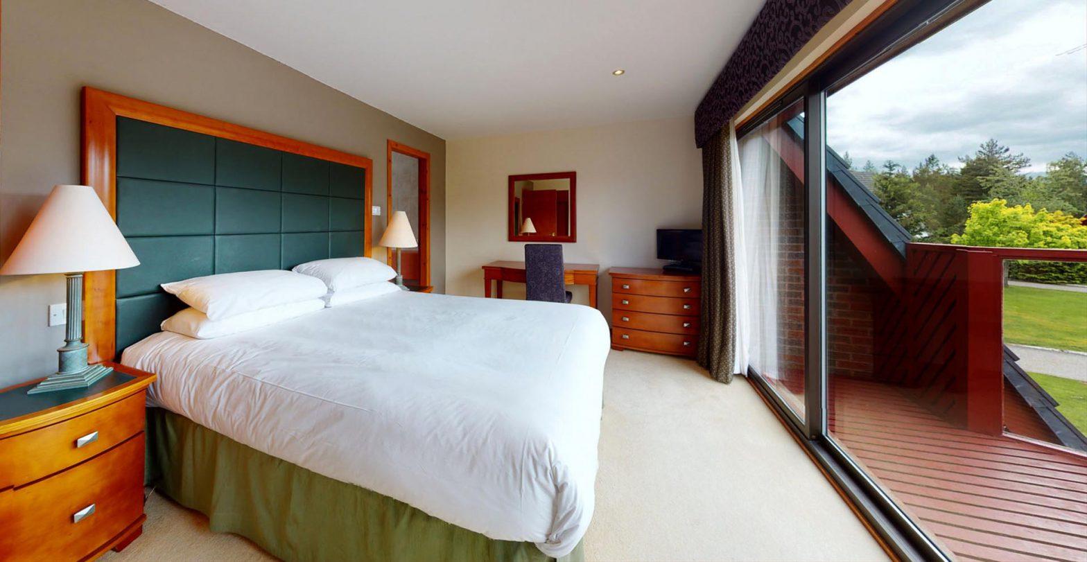 Heather Lodge - bedroom